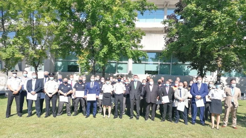 La seguridad del Hospital de Alcalá recibe menciones honoríficas de la Policía Nacional