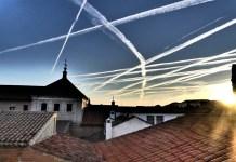 chemtrails en los cielos de Alcalá