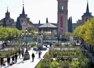 La Plaza de Cervantes en el octubre cervantino
