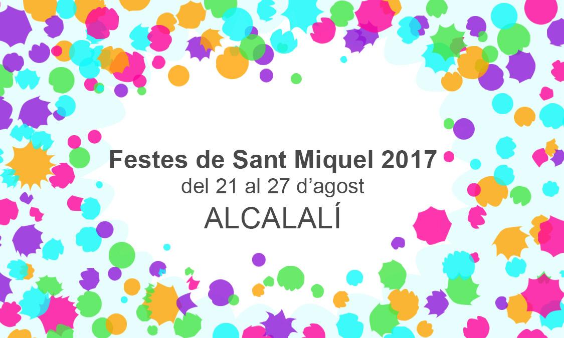 Festes de Sant Miquel 2017 - Alcalalí turismo