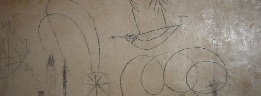 Grafitis Torre Medieval