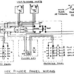 Shore Power Wiring Diagram Home Theater Systems Speaker Chaparral Rv Get Free Image About