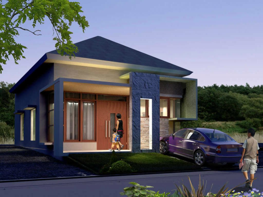 58 Gambar Rumah Sederhana Tapi Kelihatan Mewah Terbaik