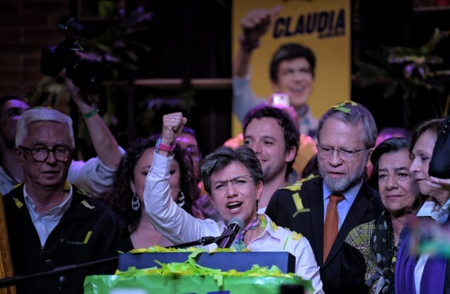 Claudia López, primer mujer en ganar la Alcaldía de Bogotá