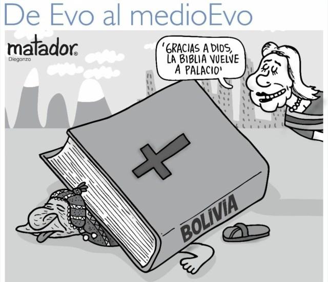 En Bolivia: ¿La Biblia volverá al Palacio de Gobierno?