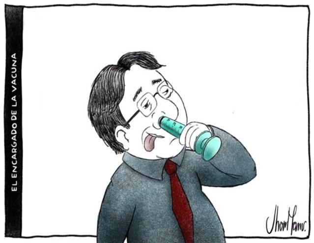 El encargado de la vacuna