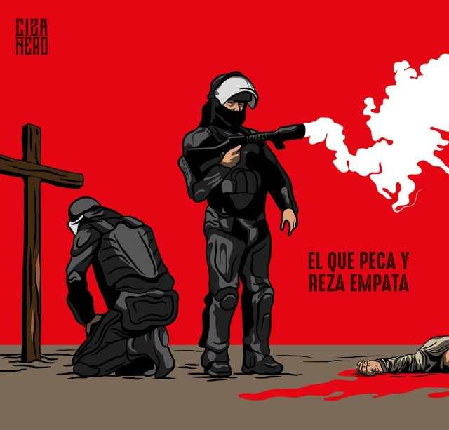 """""""La policía nunca ha sido garante de la vida"""": Cizañero"""