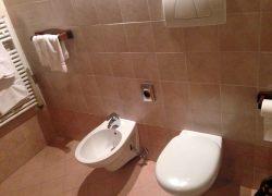 bagno comodo camera agriturismo codroipo 250x180 The Rooms in farm stay in Codroipo, Udine Friuli