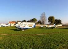 viduale pista aerei 220x160 Laviosuperficie e campo volo di Codroipo in Friuli
