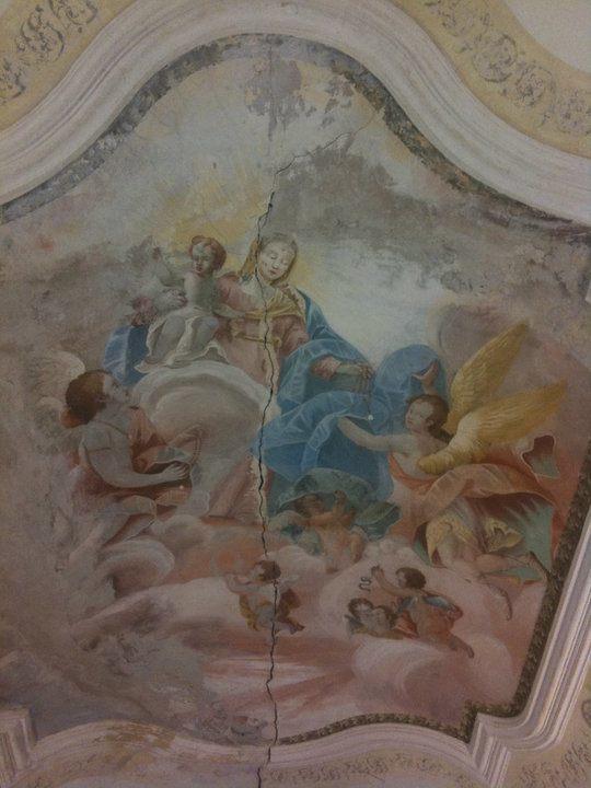 Chiesetta Madonna Loreto Codroipo 03 Messa della Vigilia di Natale alla Chiesetta Madonna di Loreto