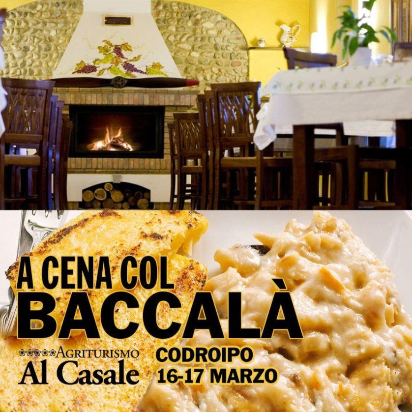 Al Casale Quad Baccala 890x890 16 17 Marzo: Cene col Baccalà + Musica   Al Casale Codroipo