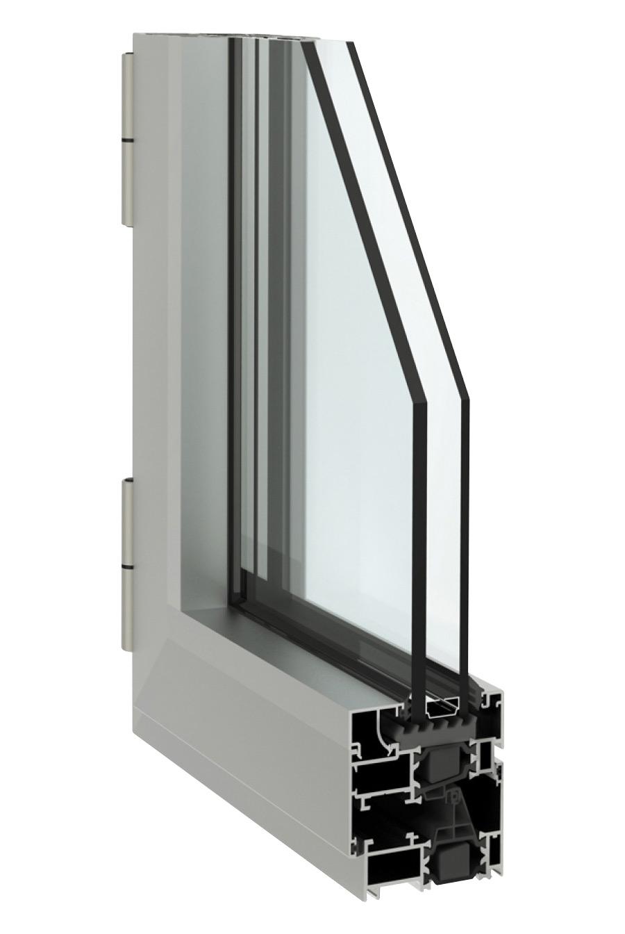 Infissi alluminio taglio termico  Finestra triplo vetro