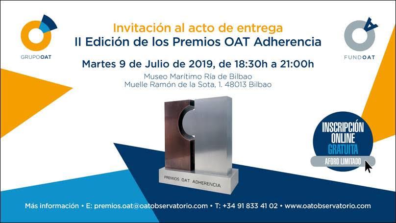 El programa de ALCE EspaiEpilepsia, finalista en la II Edición de los Premios OAT Adherencia