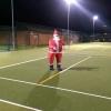 Santa on Court