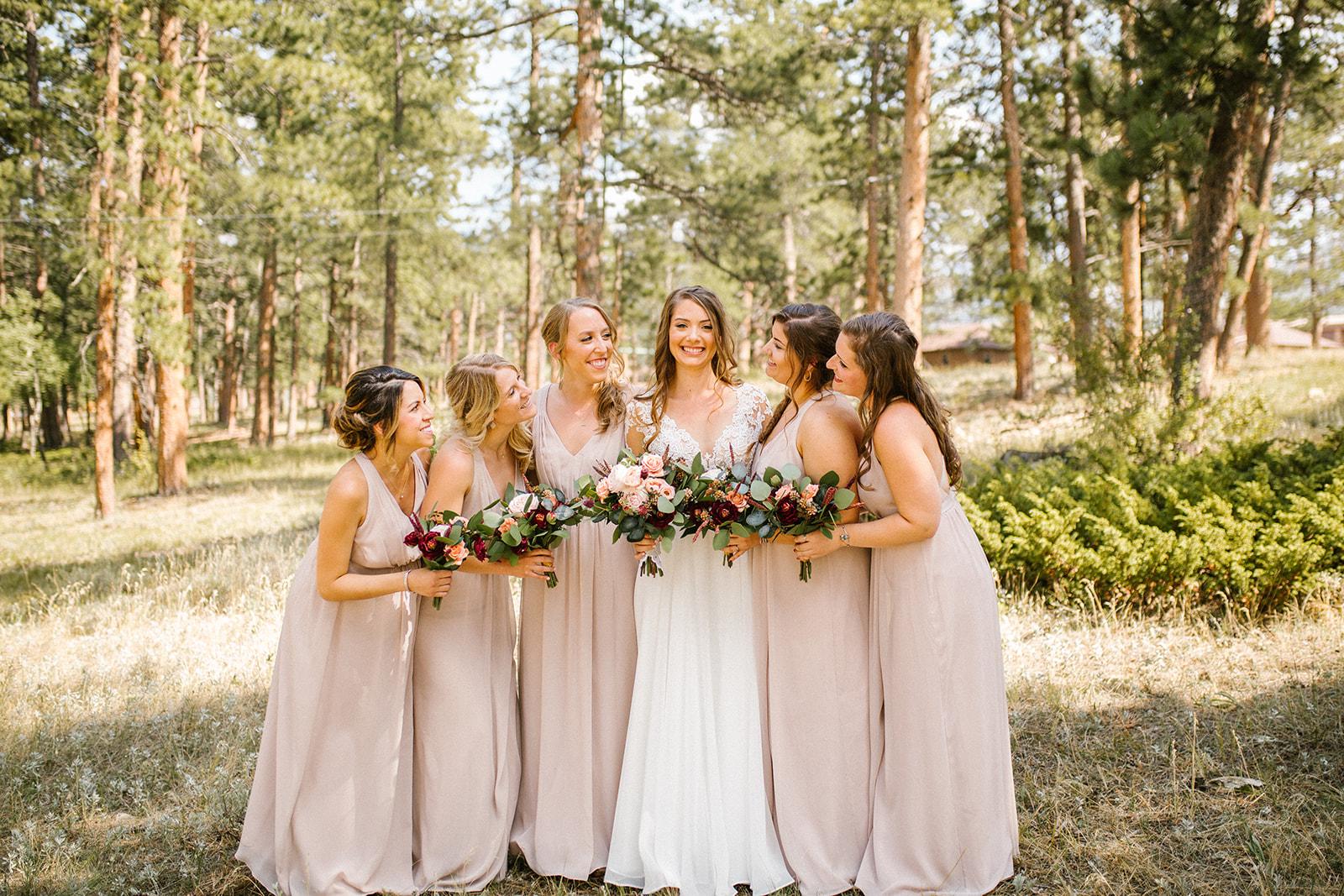 colorado wedding hair and makeup | on location bridal hair +