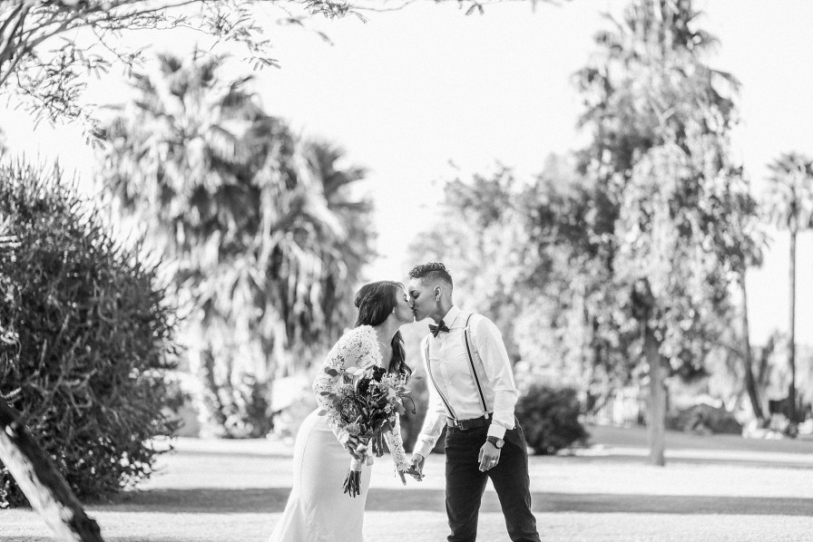 phoenix wedding photographer , encanto park wedding