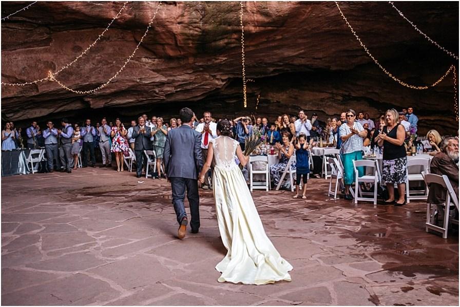 Willowbrook Amphitheater Colorado Cave Wedding Alicia Tom