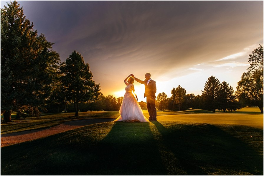 nebraska wedding photographer | scottsbluff country club wedding