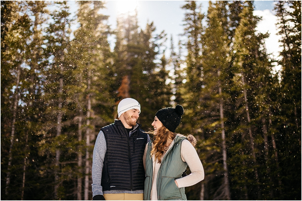 estes park engagement photographers