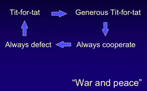 Cooperation is dynamic, not static