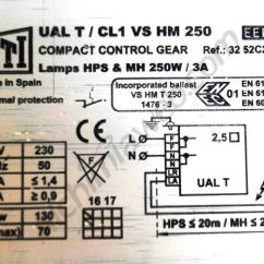 Hps Ballast Wiring Diagram Auto Transformer Internal How To Set Up A Magnetic Alchimia Blog Assembly Plan Of 250w Eti