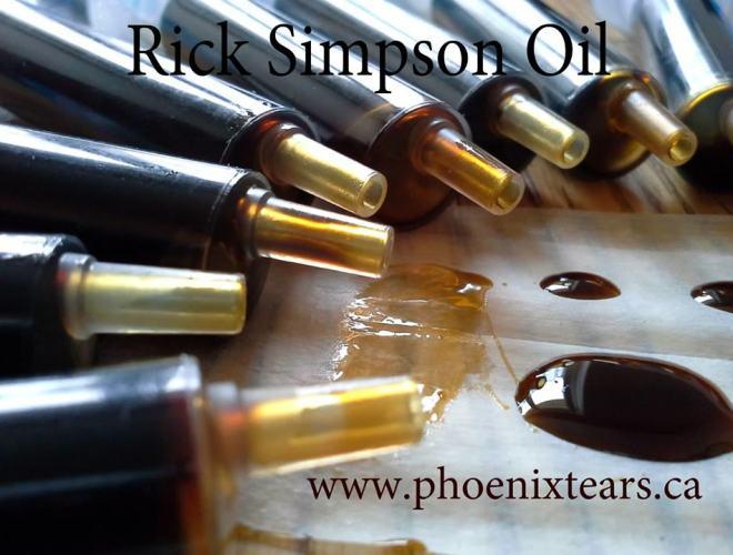 Huile de cannabis de Rick Simpson, prête à l'emploi