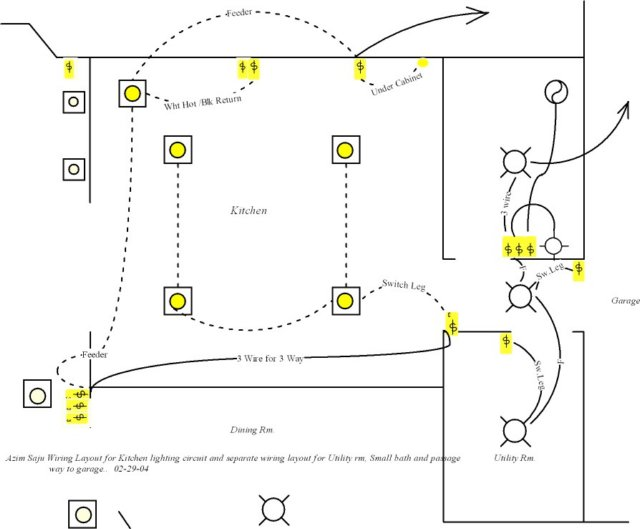 kitchen light wiring diagram how to set a table lighting great installation of azim layout utilty and sm bath rh alcoelectrical com cabinet