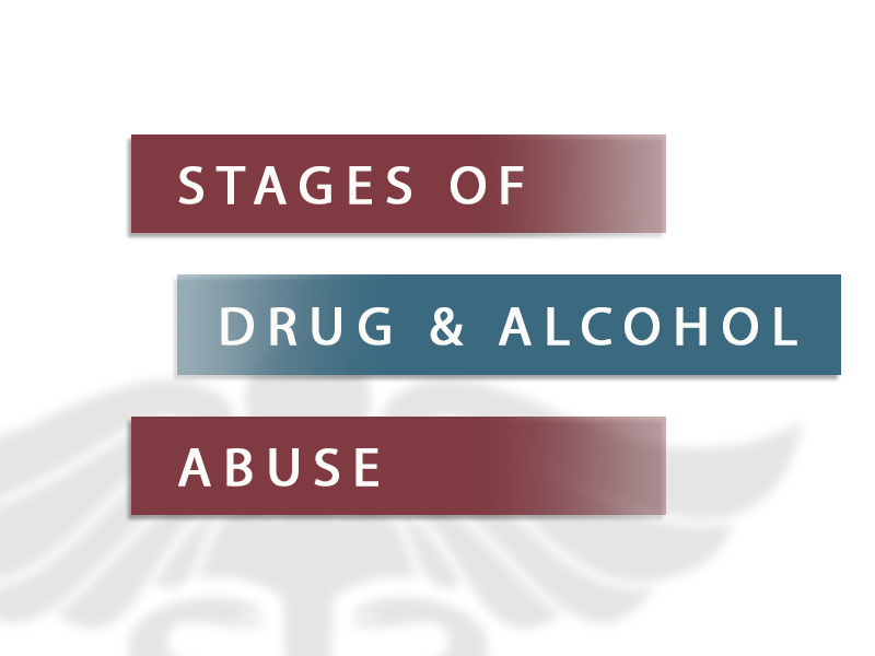 stages of drug alcohol abuse