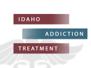 Idaho Addiction Treatment