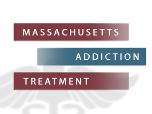 Massachusetts Addiction Treatment