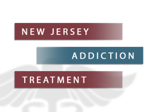 New Jersey Addiction Treatment