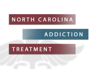 North Carolina Addiction Treatment