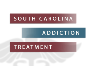 South Carolina Addiction Treatment