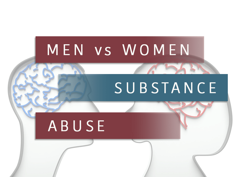 Men vs Women in Sunstance Abuse