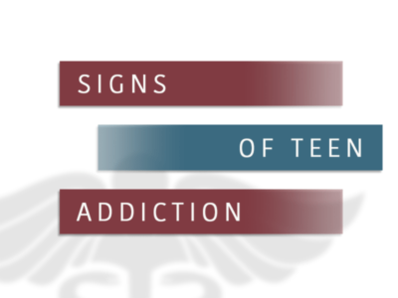 Signs Of Teen Addiction