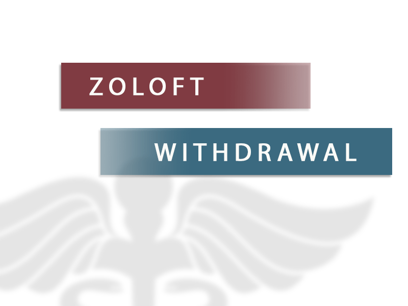 zoloft withdrawal