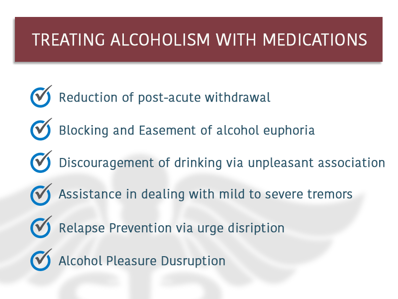 How Medication Help Alhoholism Treatment