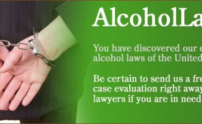 Alcohol And Dui Laws