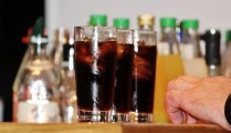 alcohol with diet mixers