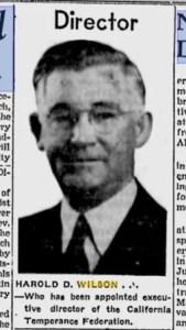 Harold D. Wilson
