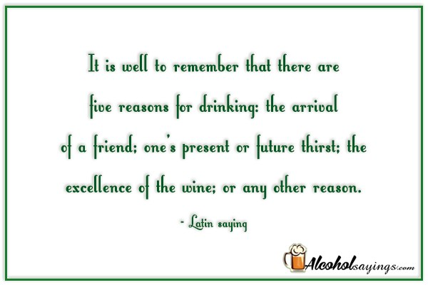 alcohol sayings liquor quotes