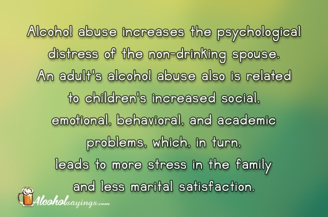 Alcoholic Sayings And Family Quotes