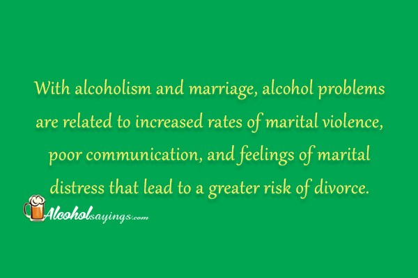 alcohol ruins relationships