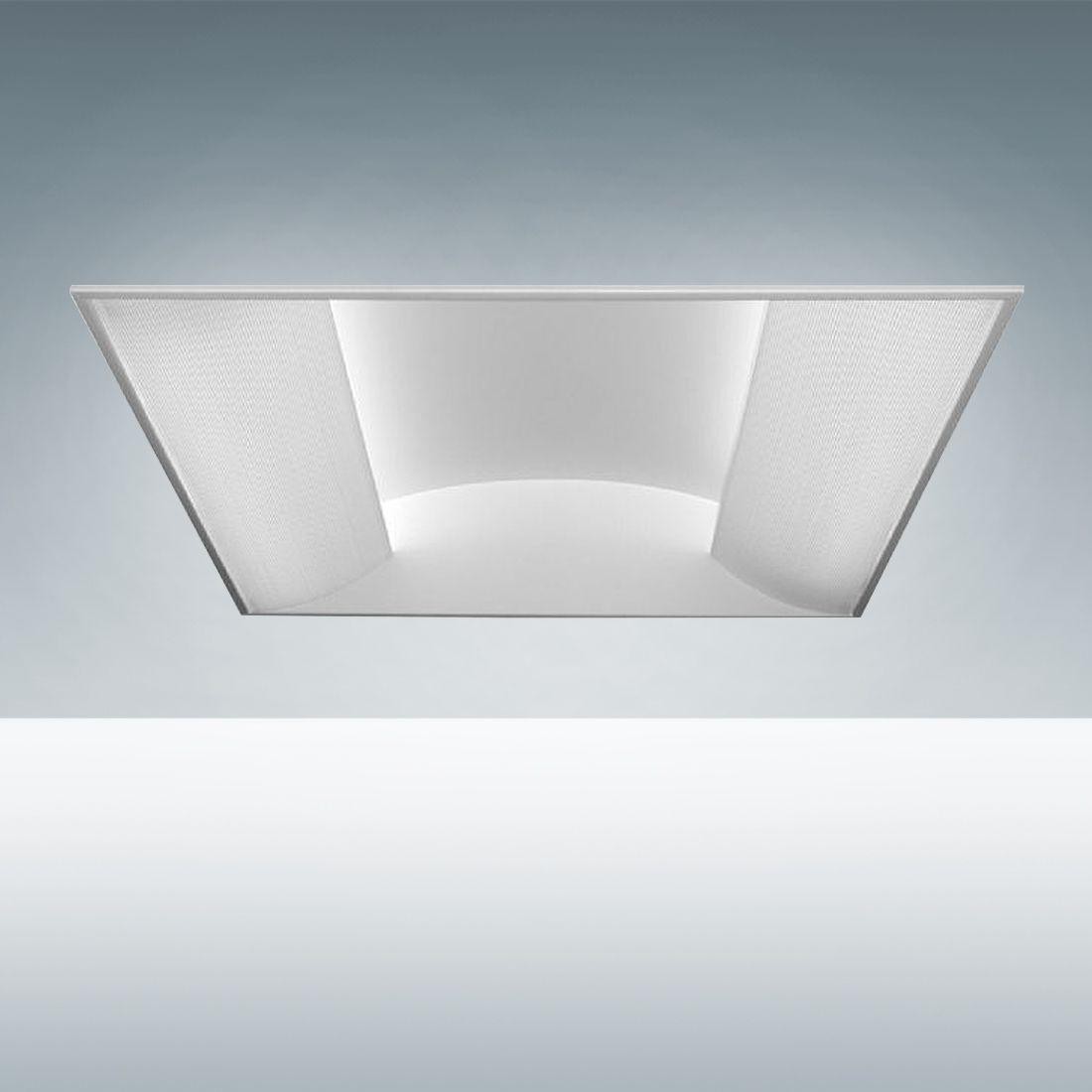 alcon lighting 14080 prestige architectural led recessed side basket direct light troffer