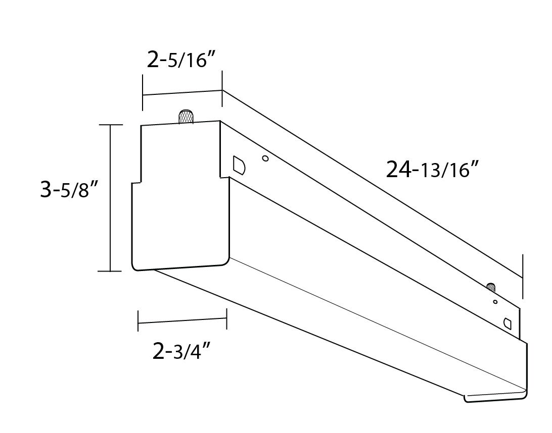 Alcon Lighting Block Architectural Led Linear