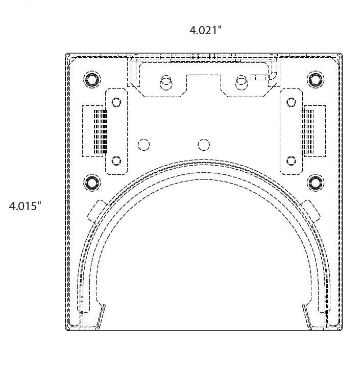 Alcon Lighting 12100-44-P-CG Continuum 44 Architectural