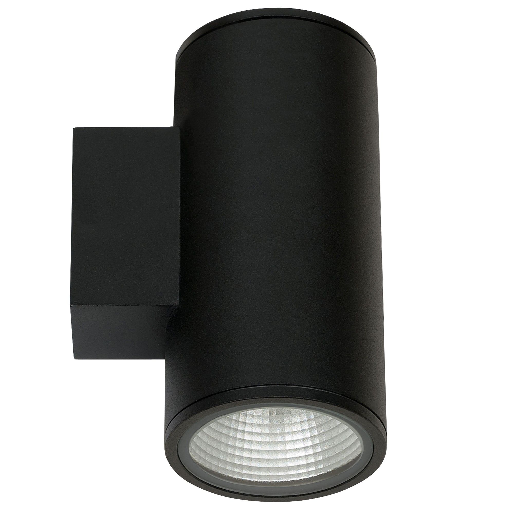 alcon lighting 11226 4 2d pavo architectural led 4 inch round cylinder 2 direction wall mount light fixture
