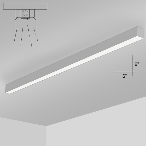 small resolution of alcon lighting 12200 6 s 8 rft series architectural led 8 foot linear