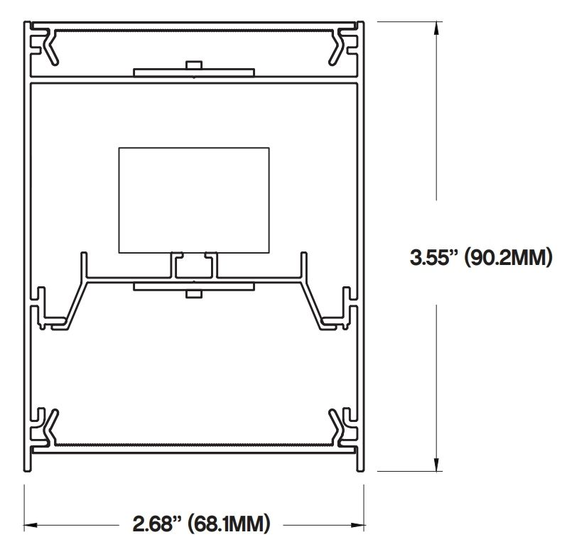 lighting architecture diagram gretsch 6120 wiring core csl 320 sm led suspended direct indirect light fixture surface linear