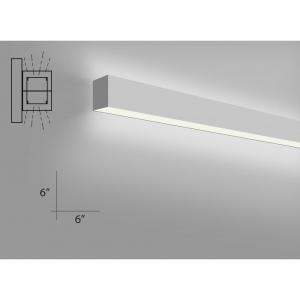 Alcon Lighting 1210066W4 Continuum 66 Series Architectural LED Linear Wall Mount Direct